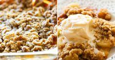 Jablka se skořicí, muškátovým oříškem a křupavými ovesnými vločkami Muesli, Mashed Potatoes, Smoothies, Cereal, Breakfast, Ethnic Recipes, Food, Whipped Potatoes, Smoothie