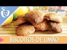 Biscoitos de limão sem glúten - Emagrecer Certo - YouTube