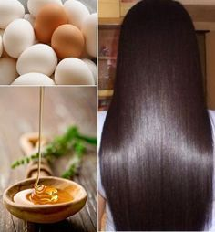 How To Get Smooth & Shiny Hair Using Eggs - You can use raw eggs to make your hair shiny and add volume. Beat 2 eggs in a bowl and add a tablespoon of honey. Place the mixture on your hair and let it sit for 5-10 minutes. Rinse with cool water (warm water cooks the egg, yuck). Shampoo your hair as you normally would and skip the conditioner, dry as usual. Voila, your hair will be soft, voluminous and shiny!