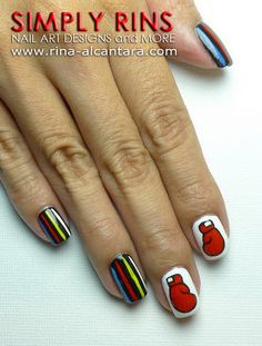 boxing gloves on nails - Google Search