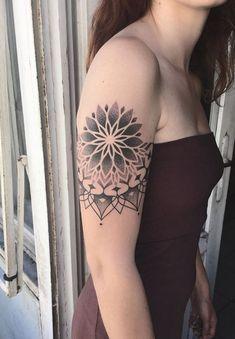 Black Mandala Tattoo