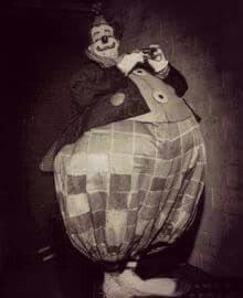 """Felix Adler famous American circus clown, performed for over 20 years with the Ringling Bros. and Barnum """" Bailey Circus. Old Circus, Vintage Circus Party, Dark Circus, Circus Art, Vintage Carnival, Circus Theme, Circus Wedding, Circus Birthday, Vintage Circus Performers"""