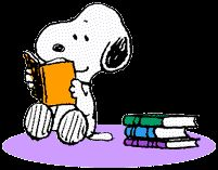 I LOVE READING TOO, SNOOPY!