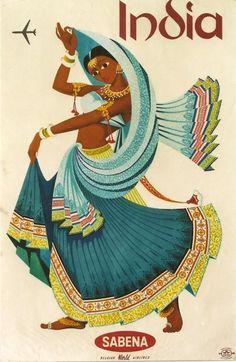India • Sabena ~ Anonym