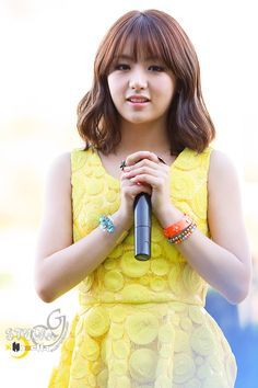 """Ladies' Code EunB """"Today I cry, I wish you happiness forever, good bye."""""""