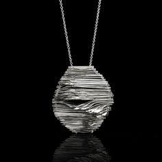 Ripple-Infinite, Contemporary Jewelry, Mia Hebib