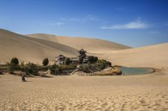 Dunhuang oase in China  - © Thinkstock