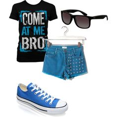 Different short and the outfit would be perfect!! :)