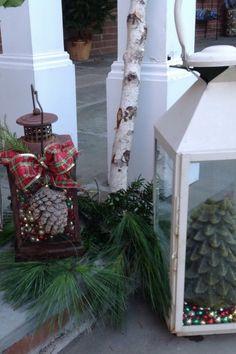 46 beautiful christmas porch decorating ideas - Christmas Ideas Pinterest