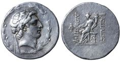 SELEUCID EMPIRE. Demetrios I Soter. 162-150 BC. AR Tetradrachm - Greek Coins - Coins
