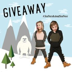 It's GIVEAWAY time Win a FREE AW16 Color-block Hoodie and Baby Dino Harem outfit ($112 value)!!! RULES: 1. Like this pic and tag a friend. 2. Share this pic with the hashtag #SoFreshAndSoFree  Contest ends Monday 10/10/16  1 winner will be picked at random and announced Monday evening. GOOD LUCK!!! #giveaway #theminiclassy #sofreshandsofree #highend #kidapproved #kidsfashion