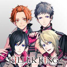 Killer King - Yuduki Teramitsu, Haruhi Teramitsu, Akane Fudo, Miroku Shingari - Character song - B-Project: Kodou*Ambitious