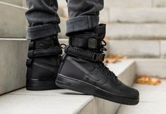 Get The Nike SF-AF1 High Triple Black On Black Friday