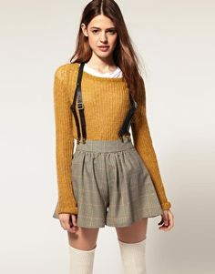 Ooooo I Love this outfit, maybe with a bit different shorts but still <3