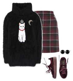 """""""Untitled #1285"""" by yurithisandthat ❤ liked on Polyvore featuring Dolce&Gabbana and Puma"""