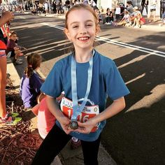 Children are often the Sanfilippo Children's Foundation's most avid supporters exercising philanthropy and a community spirit well ahead of their years. Thank you to this little pint-sized philanthropist Alice Yardley who ran and walked 5kms in the Manly Scenic Fun Run last weekend to raise funds for the SCF and in honour of her friends Iska and Jude. Thank you Alice. Super proud! #hopeforislaandjude #manlyscenicfunrun #savinglives #clinicaltrials by sfcfoundtn