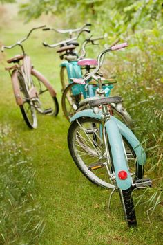 Hours spent on our Bikes ... with NO helmets!!  Lol ...