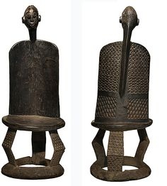African chair | Home | Original Artwork | African Art |Tanzanian Chair