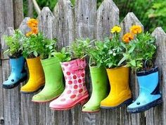 Decorate w/rubber boots