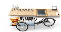 FOOD BIKE – SNACK STAND - CARGO SALES BIKE | paul&ernst street food solutions