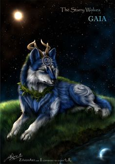 the_starry_wolves___earth__gaia__by_zilvenart