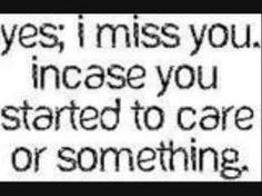 i miss you more than you'll ever understand. #sepanx