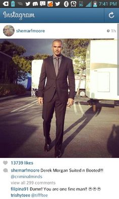 Where is Derek Morgan going?