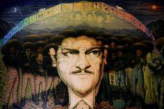 tolteka: pintura deJosé Alfredo Jiménez