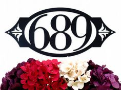 Our 3 Digit Custom Outdoor House Number Metal Sign is sure to impress your neighbors! The 5.25 numbers are clear and easy to view from the
