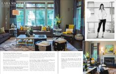 Also don't miss Lara's beautiful design of a client's family room renovation featured inside the magazine! http://www.laramichelle.com/wp-content/uploads/2014/10/ECHD_Sept2014.pdf
