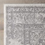 <strong>Blanche Rug in Ivory & Silver</strong> by DwellStudio