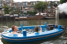 Hot Tug: a hot tub and boat all in one