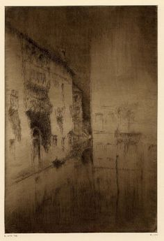 James Abbott McNeill Whistler (1834-1903), Nocturne: Palaces - 1879/80