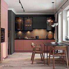Decor Interior Design, Interior Decorating, Kitchen Decor, Kitchen Design, Wood Table, Home Art, Kitchen Remodel, Home Goods, Sweet Home