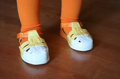 Candy Corn Costume Tutorial - So You Think You're Crafty