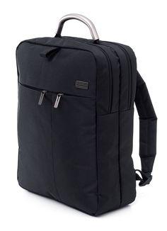 "LEXON design-Premium collection. Lett laptop 15"" sekk Sort"