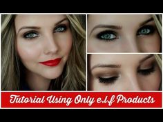 Makeup Tutorial Using ONLY E.L.F Products - YouTube Elf Makeup Tutorials, Makeup Tutorials Youtube,
