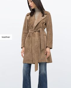 SUÈDE TRENCH COAT STUDIO