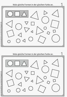 Muster nachspuren und fortsetzen   grafomotoryka   Pinterest ...