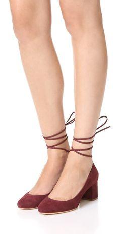 Loeffler Randall Clara Ankle Wrap Pumps | SHOPBOP