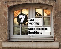 A huge part of branding your business comes with the photos that you present of you.  In today's Monday Method, we're talking about 7 steps to getting great business headshots.
