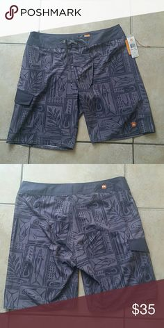 231f549ae1 Quicksilver mens waterman collection swim shorts Brand new with tag never  been worn Size 34 Quiksilver
