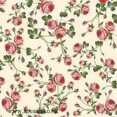 Servítka 33 x 33 cm - Ružičky
