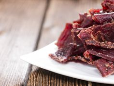"""Jerky Ingredients: Deer meat – All fat trimmed off and cut into ¼"""" thick strips, enough to be covered by the marinade in the bag. ¼ cup Soy sauce 2 Tbsp Worcestershire sauce 2 Tbsp Liquid smoke 2 Tbsp Brown sugar 2 tsp Salt 1 tsp each of Pepper, Garlic powder, Onion powder, and Paprika …"""