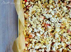 Zdrove KarmeLove: Obłędne wegańskie ciasto z kaszy jaglanej z rabarbarem! Bez mąki, bez nabiału, bez cukru, bezglutenowe! :)