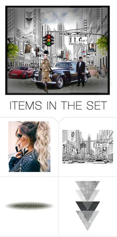 """""""Barbie on Broadway"""" by terry-tlc ❤ liked on Polyvore featuring art, artset, polyvoreeditorial, artexpression and designedbyyou"""