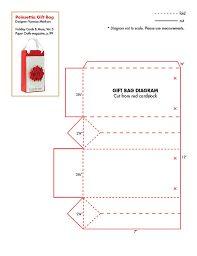 Resultado de imagen para bolsitas de cartulina moldes