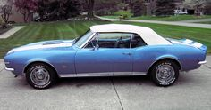 1967 Camaro SS Rally Convertible.    GREAT YEAR (it's as old as I ).  It's a  SWEET LOOKING RIDE
