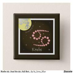 Juni, Button, Frame, La Luna, June 22, Astrology Signs, Picture Frame, Frames, Hoop