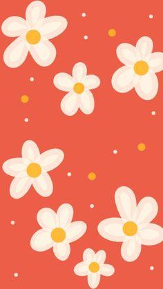 Wallpaper Tumblr Lockscreen, Homescreen Wallpaper, Iphone Wallpaper Tumblr Aesthetic, Iphone Background Wallpaper, Cellphone Wallpaper, Vintage Flowers Wallpaper, Pastel Wallpaper, Kawaii Wallpaper, Flower Wallpaper
